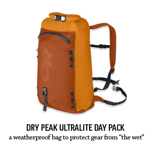 Dry Peak Ultralite Waterproof Day Pack