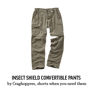 Insect Sheild Convertible Pants – by Craghoppers